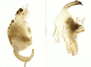 #inktober cats