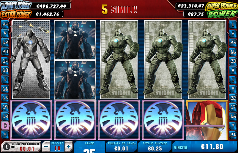 Online Casino Iron Man