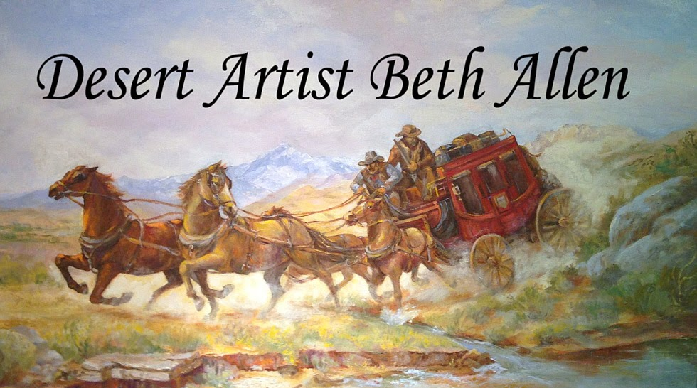 Desert Painter Beth Allen