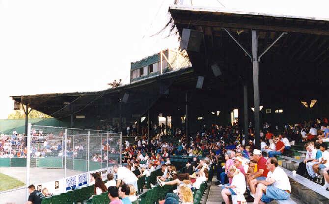 Prospect League Baseball Stadiums East Division Stadiums