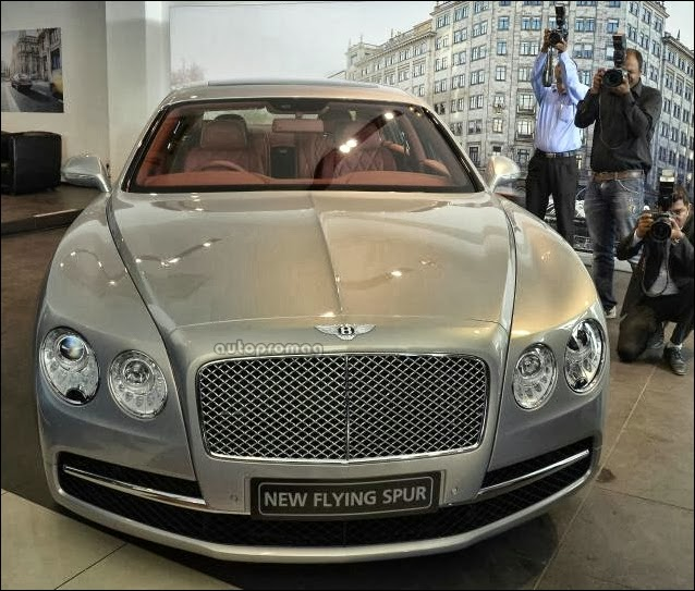The Osbournes New Bentley Flying Spur: Bentley Bring It 3.10 Crore Flying Spur To India