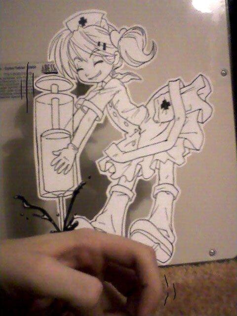 Figuras Anime en papel. 223097_10150263580504819_213182229818_7284168_7747396_n