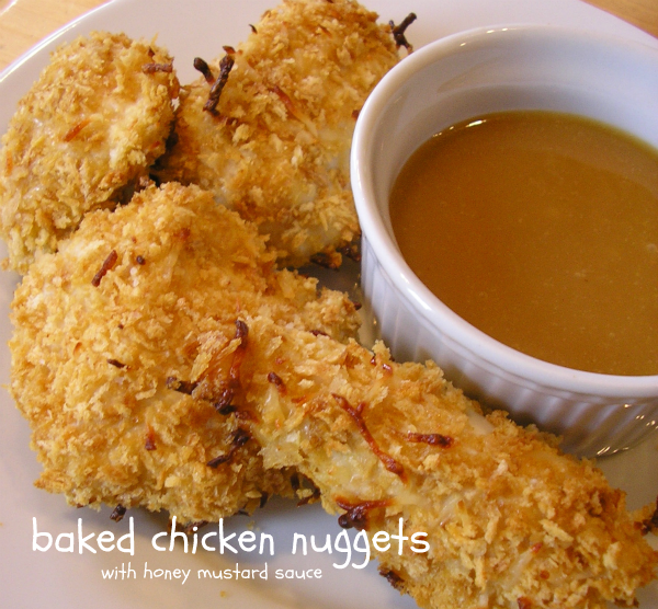 Here's the direct link for: Baked Chicken Nuggets .
