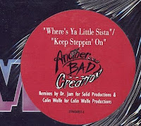 Another Bad Creation – Where\'s Ya Little Sista - Keep Steppin\' On (VLS) (1993)