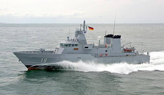 Lürssen FPB-41 patrol boat