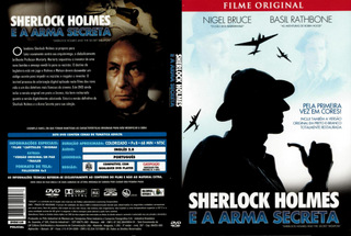 SHERLOCK HOLMES E A ARMA SECRETA - COLORIZADO
