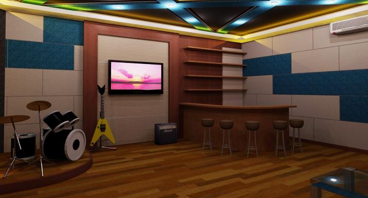 DESIGN STUDIO MUSIK DAN KARAOKE - Gemilang Soundproof