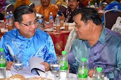 Malam Mesra Ketibaan Tan Sri Isa Samad ke Felda Sahabat