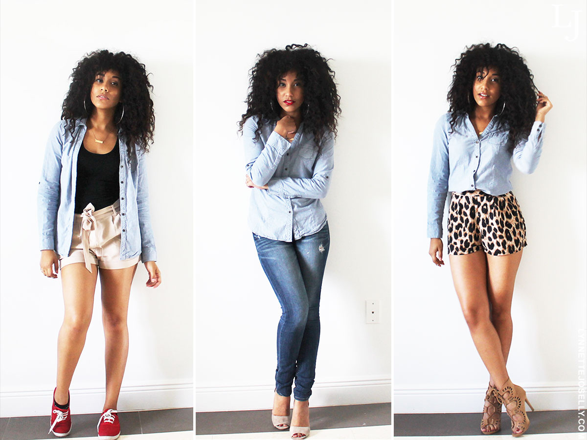 how-to-style-chambray-blouse
