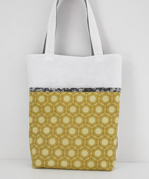 Tote bag: mustard