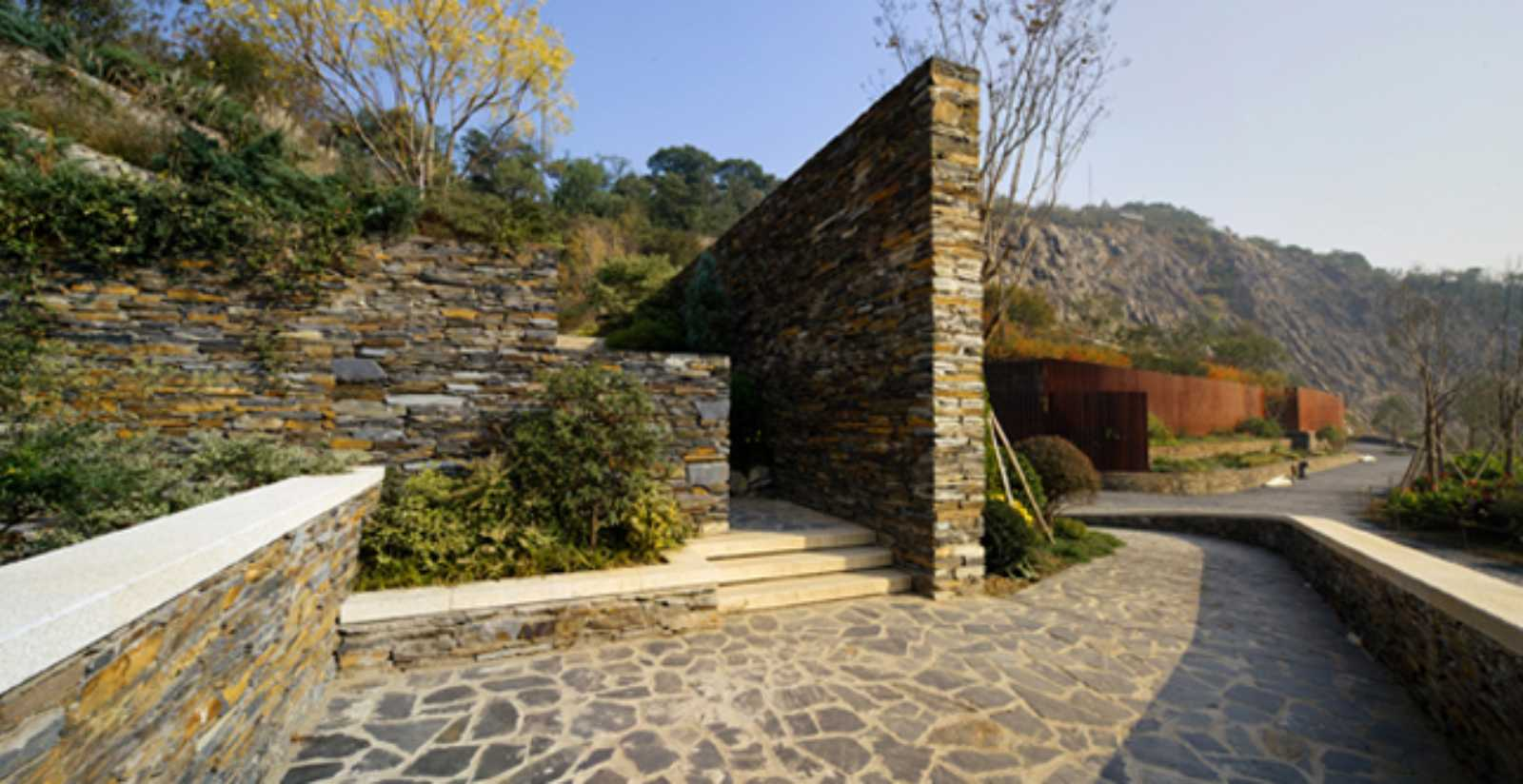 Quarry garden by thupdi tsinghua university for Form garden architecture
