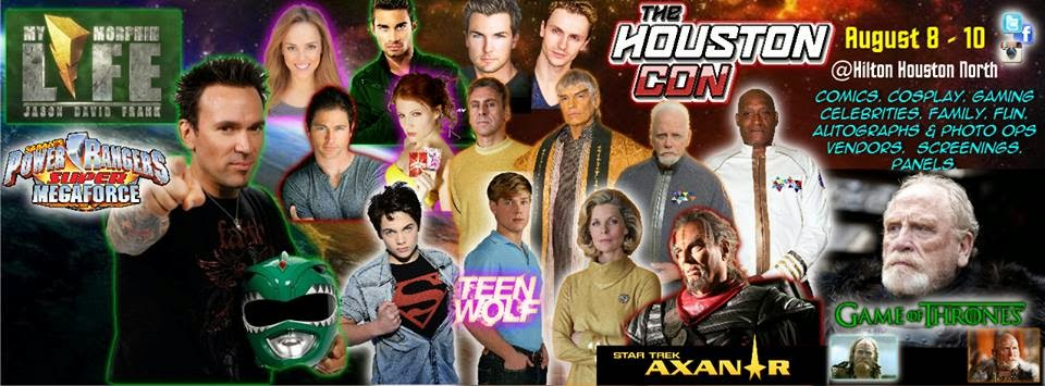 The Houston Con 2014 Guest List