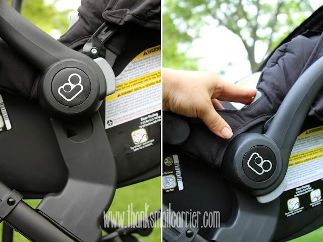 car seat stroller frame