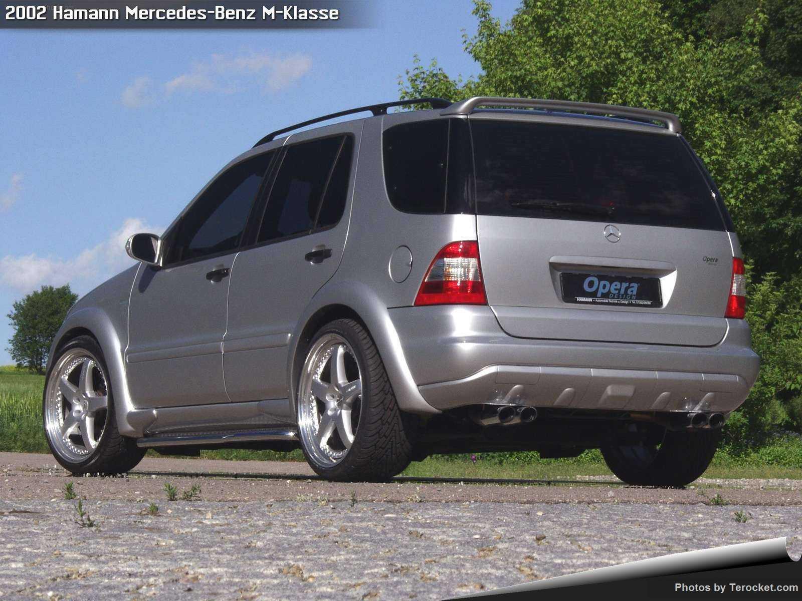 Hình ảnh xe ô tô Hamann Mercedes-Benz M-Klasse 2002 & nội ngoại thất