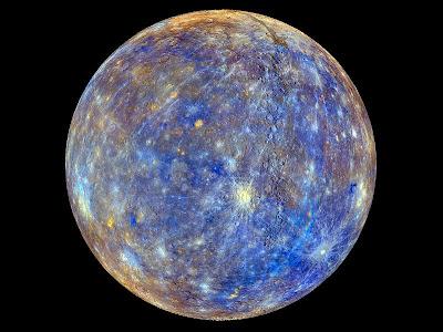 Mercurio colorido
