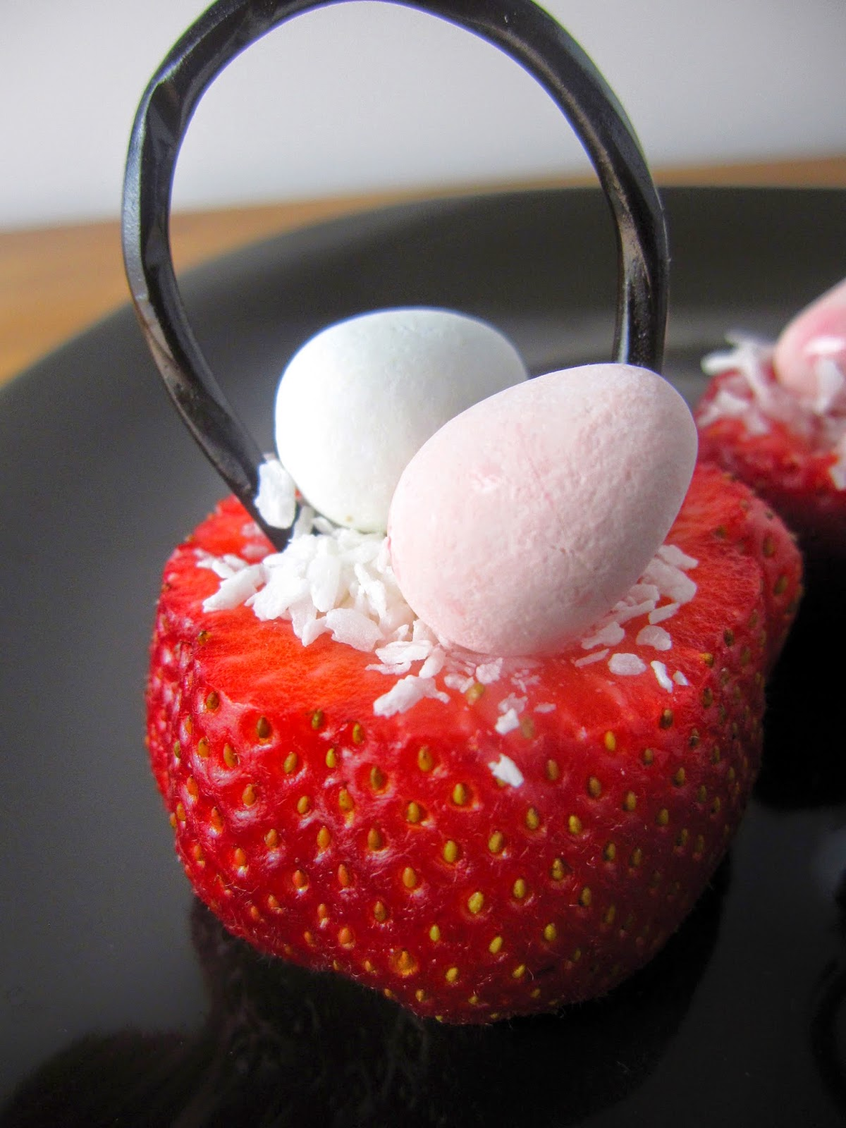 Easy Easter Strawberry Baskets
