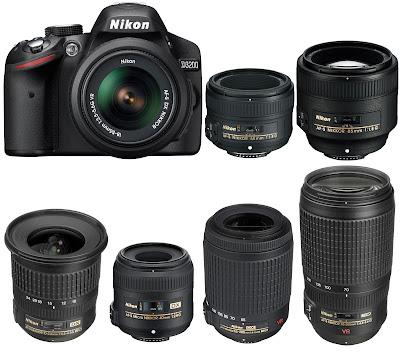 Daftar Harga Kamera SLR DSLR Nikon Terbaru Nopember 2013