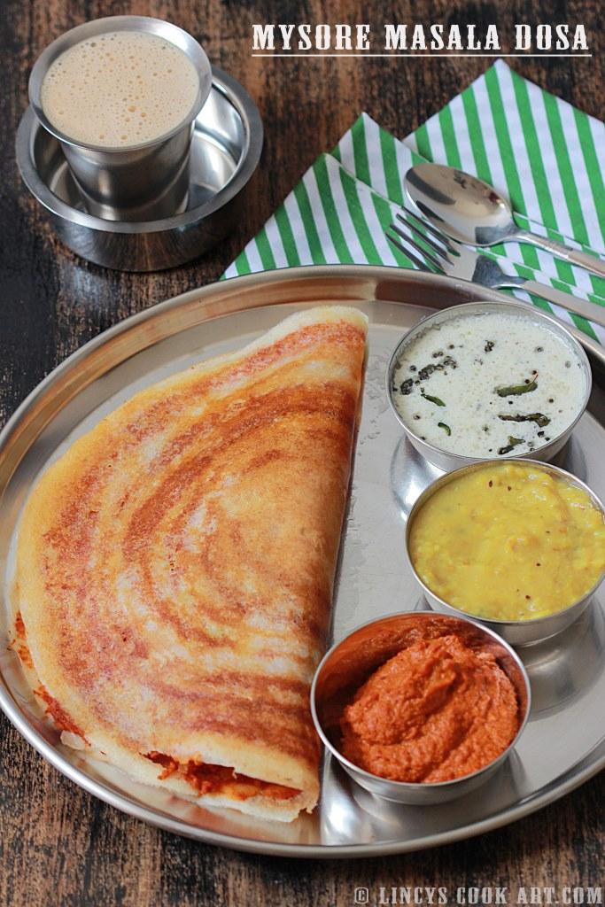 Mysore masala dosa lincys cook art mysore masala dosa forumfinder Images