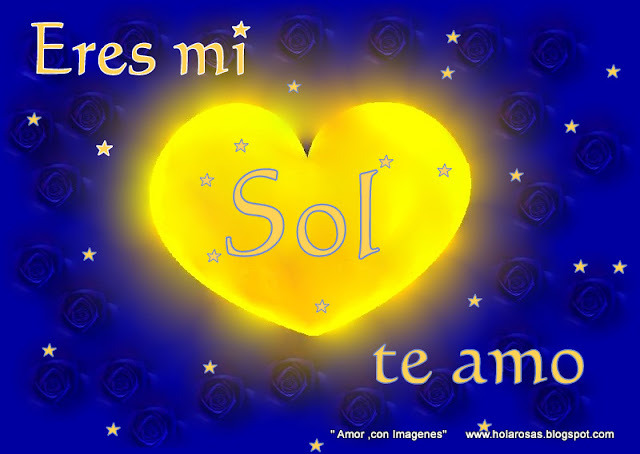 ... con frases y corazones (images of love and hearts with phrases face