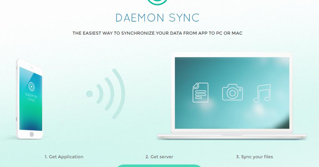 最簡單私有雲! Daemon Sync 手機照片自動備份電腦