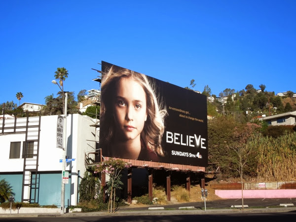 Believe series launch billboard