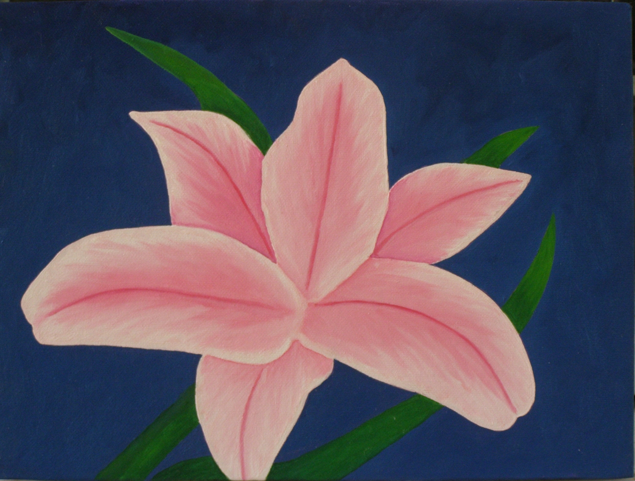 Oil painting lessons painting demos free photos for Easy way to paint flowers