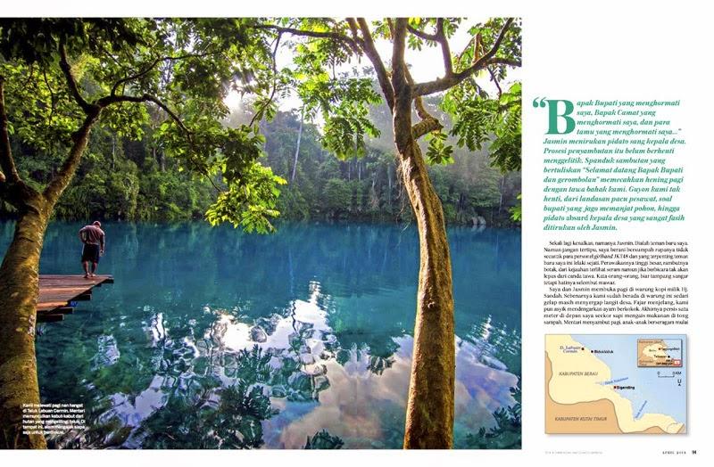 Berau Indonesia  City pictures : Berau Kalimantan Timur : National Geographic Traveler Indonesia April ...