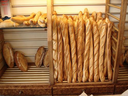 Les Algériens et leur baguette de pain dans actualité baguette