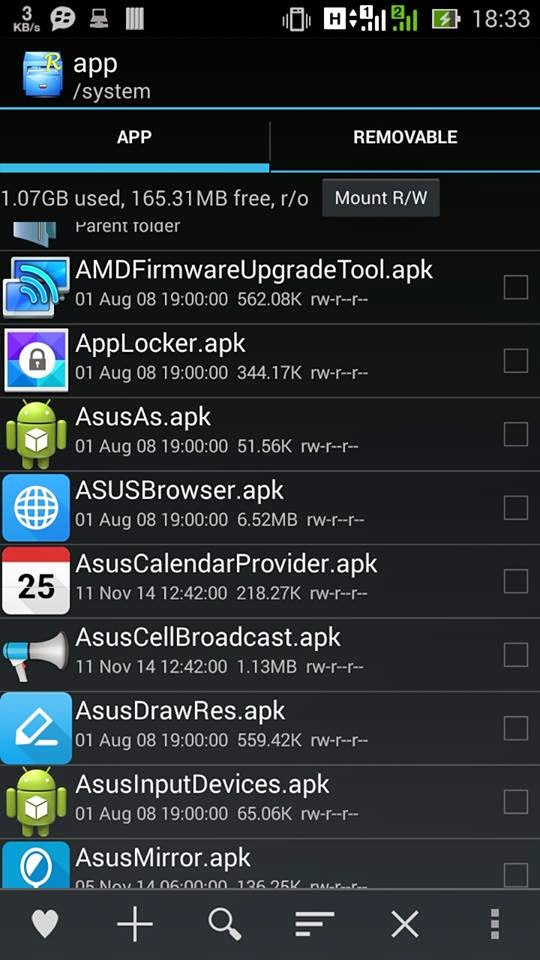 FULL DEODEX Asus Zenfone 5 ( WW 2.20.40.13 )