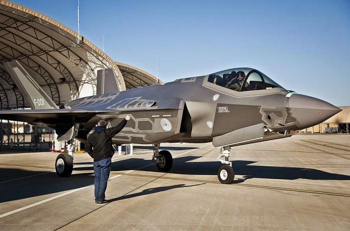 Bahkan pesawat siluman terbaru F-35 akan sangat sulit melawan Su-35