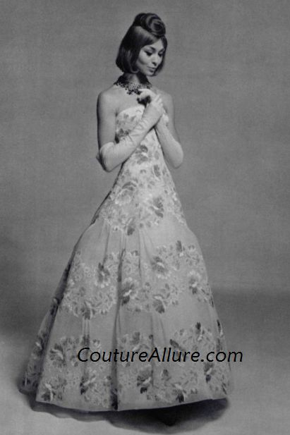 Couture allure vintage fashion 1960 couture evening gowns for 1960 s haute couture