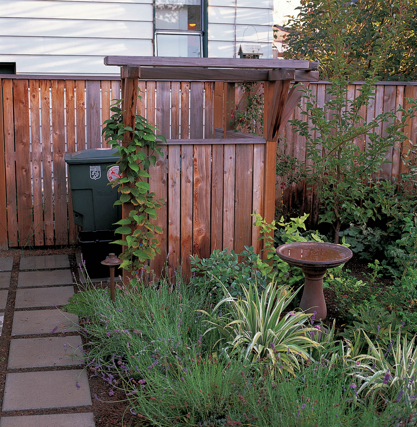 Danger garden landscaping for privacy innovative ways to turn your outdoor space into a - Garden ideas to hide fence ...