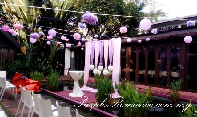 Rom wedding decoration rama v fine thai cuisine kuala for Annual dinner decoration