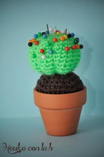 Herika con la h - Herigurumi amigurumi cactus