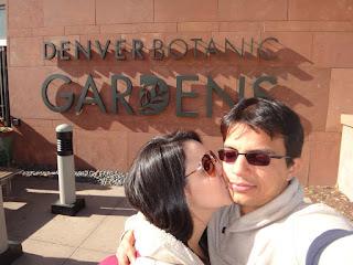 entrada do jardim botanico de denver