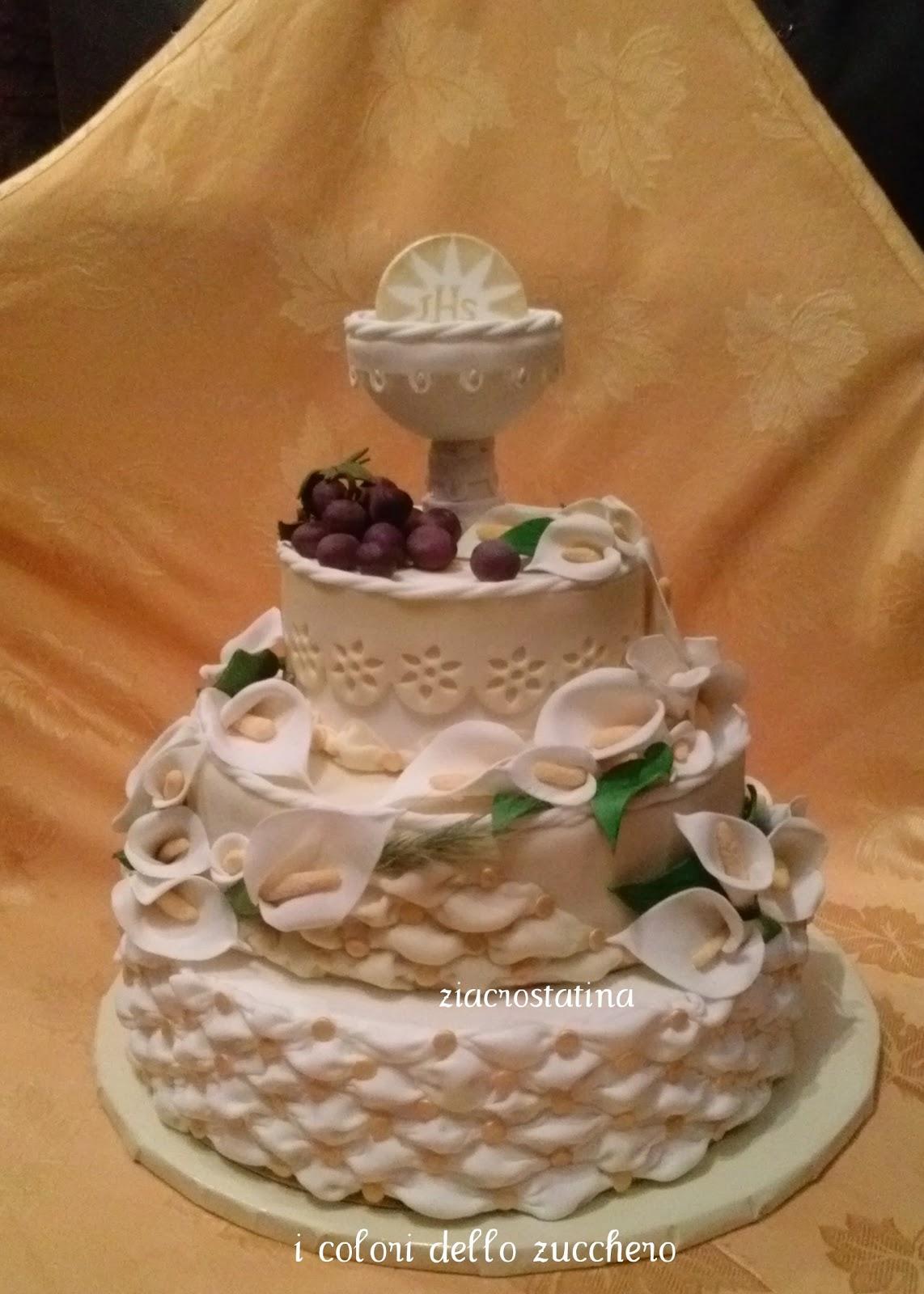 Immagini di torte di prima comunione mg14 regardsdefemmes for Decorazione torte prima comunione