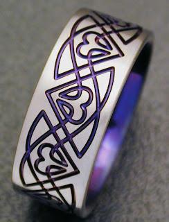 titanium claddagh rings