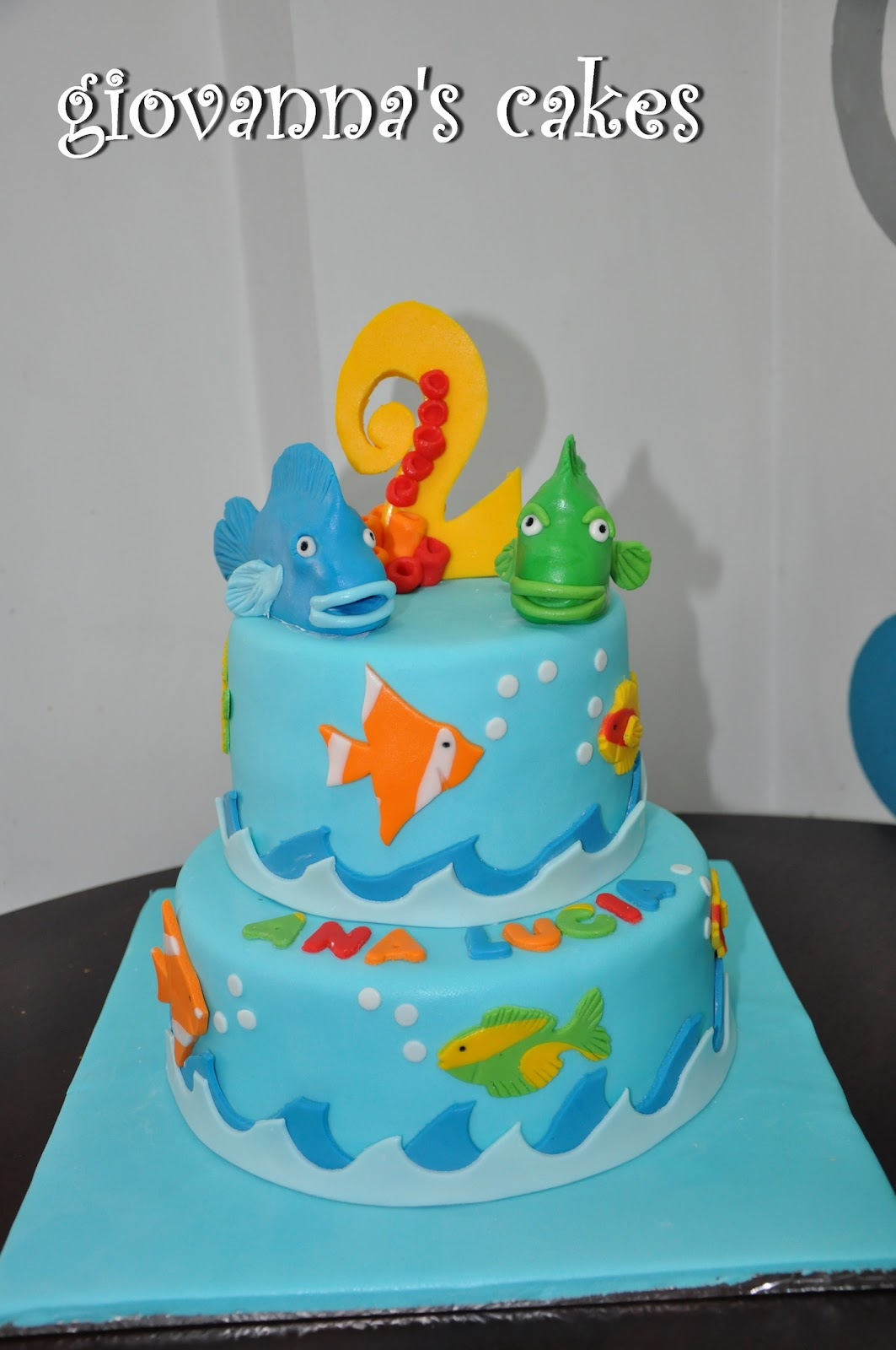giovanna 39 s cakes fish themed cake