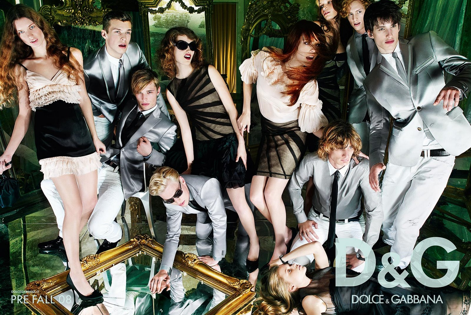 Dolce and Gabbana Models