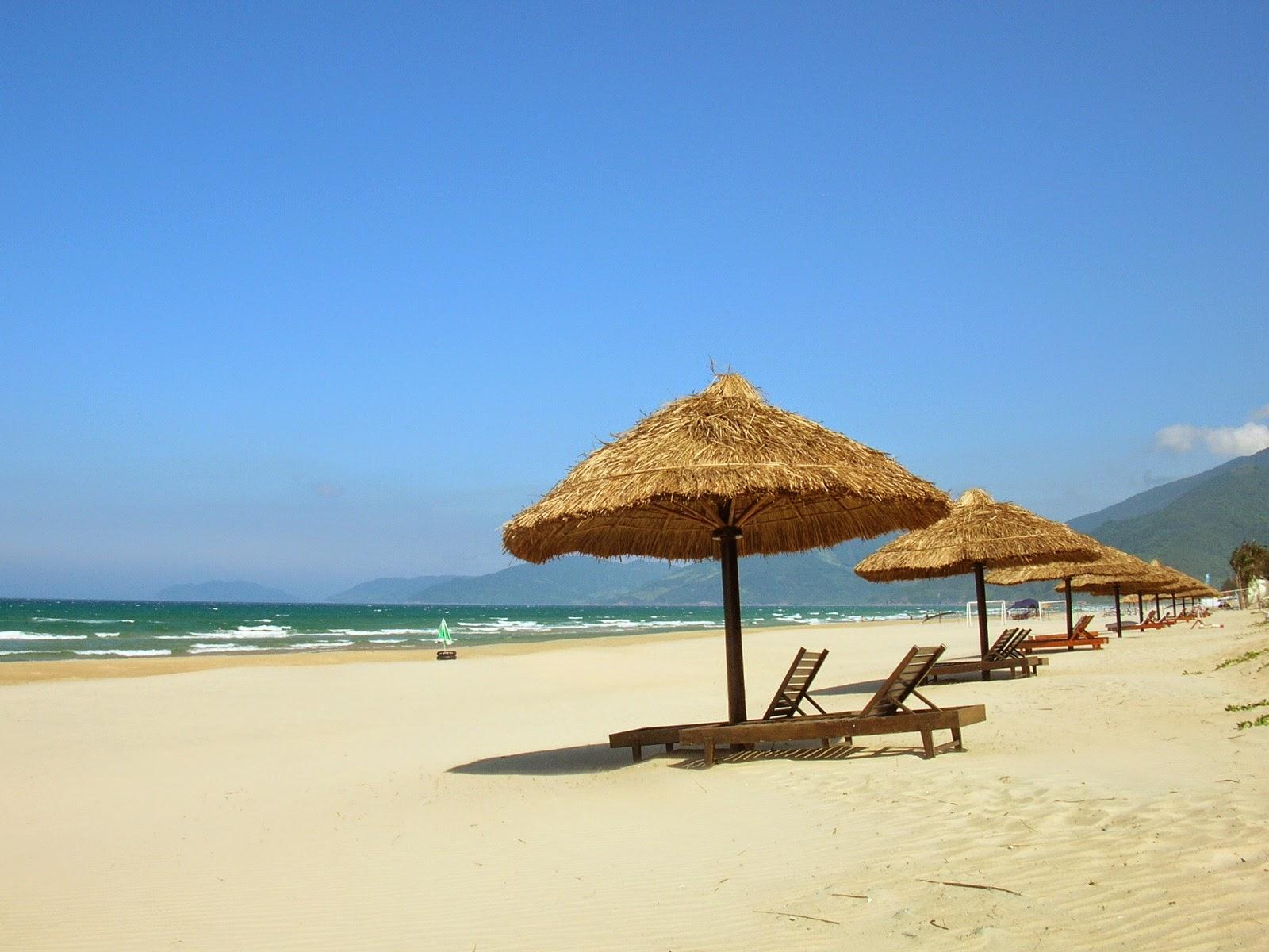 hình nền bãi biển mùa hè