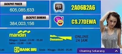 77dewa Situs Judi Poker Dan Domino Online Indonesia Terpercaya | Intan Panjaitan | Informasi Terbaik