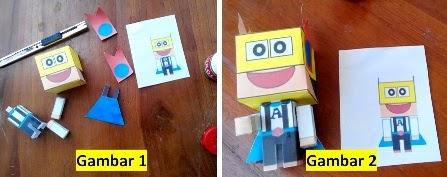 gambar papercraft