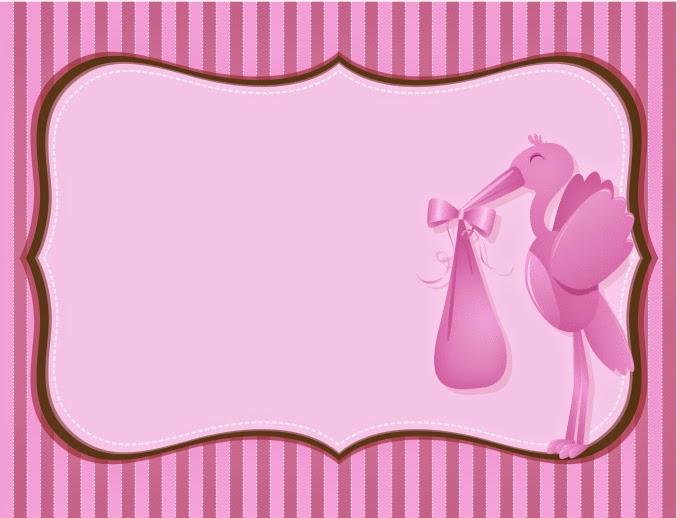 Tarjetas e Invitaciones de Baby Shower para Niñas, parte 2
