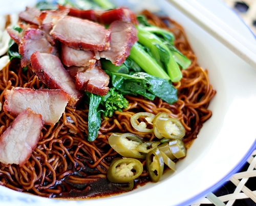Suleika's Blog (Recipe to All): Wantan Noodles (Malaysian Wantan Mee)