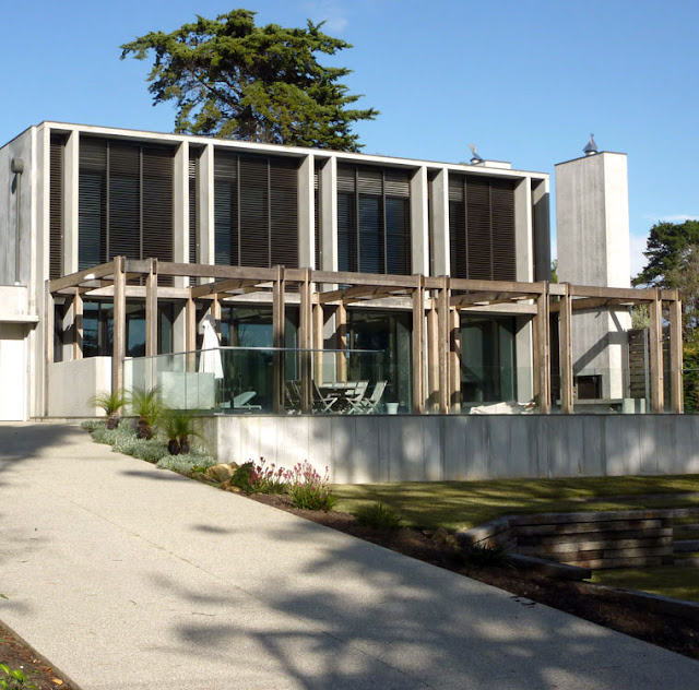Modern contemporary beach house