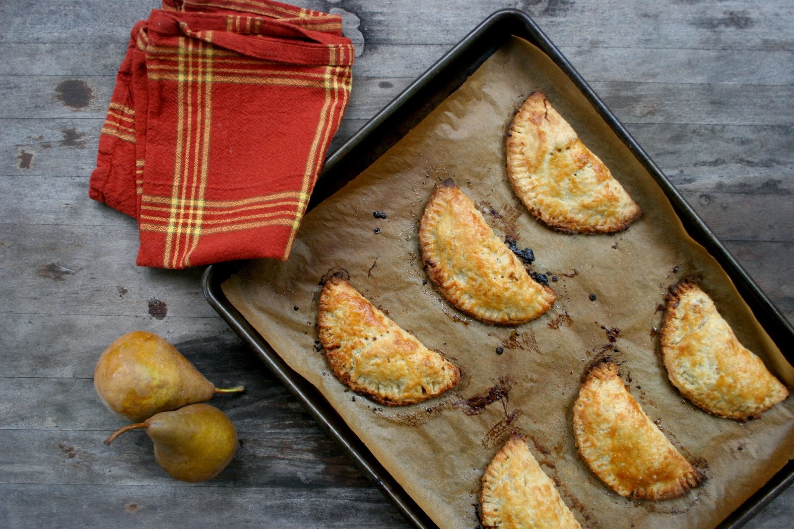 Pear, Gruyere & Caramelized Onion Hand Pies
