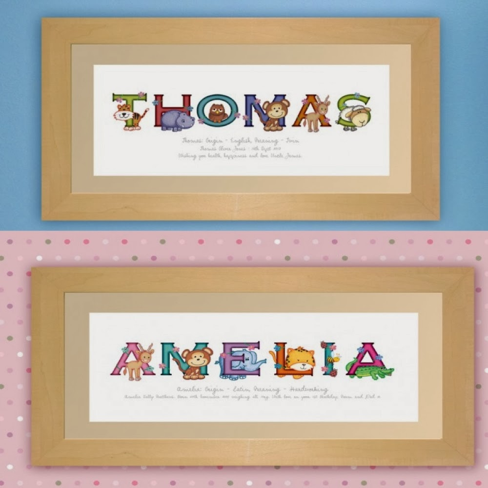 Personalised name prints for kids | V. I. BUYS - mamas V.I.B