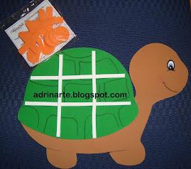 Jogo da velha de tartaruga