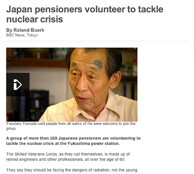 Relawan Senoir Jepang