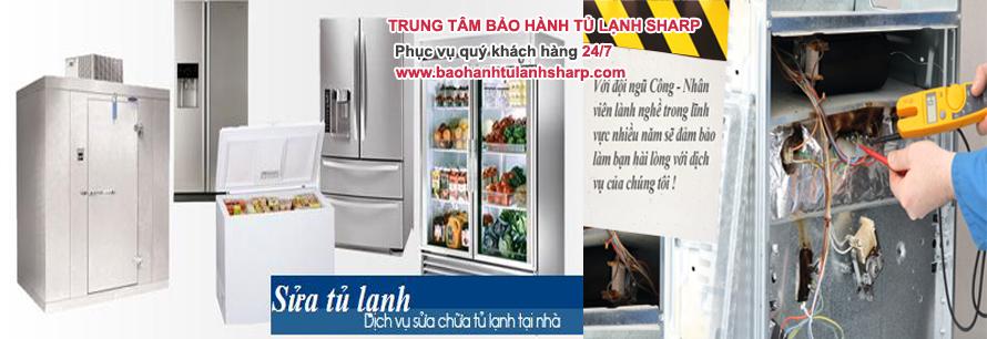 Chuyên sửa chữa tủ lạnh SHARP tại Hà Nội